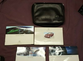 2002 Mercedes-Benz C-Class Owner Owner's Manual & Supplemental Documents & Case - $11.64