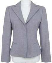 GIORGIO ARMANI Blazer Jacket Lavender Cashmere Classic Dress Sz 38 - $261.25