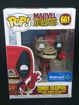 Funko Pop Marvel Zombies: Zombie Deadpool Walmart Exclusive 661 - $17.03