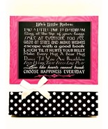 Photo Album by Jo Moulton Holds 180 4 x 6 inch Pictures Pink Black Hard ... - $26.72