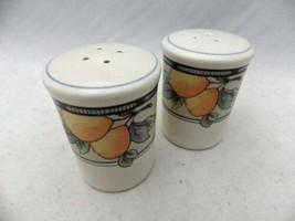 Mikasa Intaglio Garden Harvest - Salt & Pepper shaker w/stoppers - # CAC... - $18.81