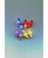 sugar skull charm skull bead drop charms crystal glass plastic skull pen... - $2.40
