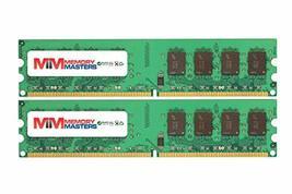MemoryMasters 8GB (2x4GB) DDR2-667MHz PC2-5300 Non-ECC UDIMM 2Rx8 1.8V Unbuffere