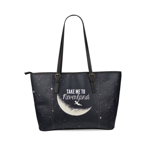 1bb882ef98d4 Take Me to Neverland Large Black Tote Bag and 50 similar items