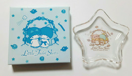 Little Twin Stars Glass tray SANRIO Made in japan Super Rare goods LION ... - $39.27