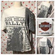 Harley-Davidson Motorcycles 2XL Black Hills Rally 2013 Chain Rare T-shir... - $34.25