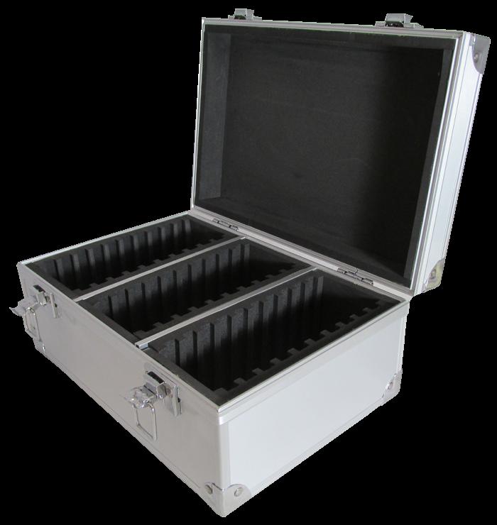 Gaurdhouse Aluminum Storage Box for 30 Certified Display Slabs