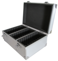 Gaurdhouse Aluminum Storage Box for 30 Certified Display Slabs - $38.94