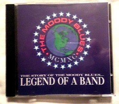 LEGEND OF A BAND The Story of the Moody Blues - MINT condition CD - $7.91