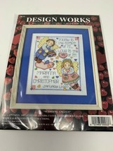 """Personalized Design Works Wedding Angels Counted Cross Stitch Kit #9634 8"""" x 10"""" - $11.00"""