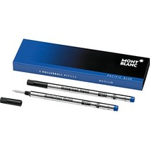 Montblanc Rollerball Refills M Pacific Blue 105159 – Quick-Drying Pen Re... - $20.81