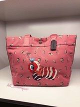 NWT Coach F32208 Fisher Price Tote Canvas Caterpillar Queen Bee Peony Mu... - $134.95