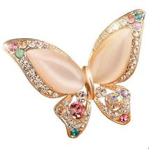3 Colors Wedding Butterfly Brooch For Women - $22.45