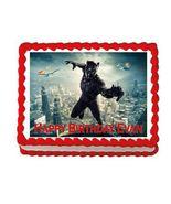 Black Panther Avengers Edible Cake Image Cake Topper - $8.98+