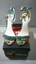 Guess Catarina Women US 9M Blue Sandals - $29.70
