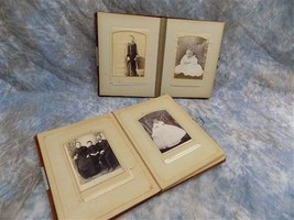 2 Albums Family Photography Black White Sepia Photos Williamsport PA Gingry - $133.00
