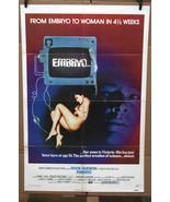 Original Embryo 1976 movie poster Rock Hudson Barbara Carrera Diane Ladd... - $58.84