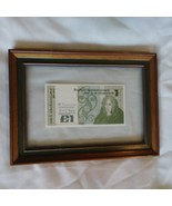CENTRAL BANK OF IRELAND IRISH (1) ONE POUND NOTE Framed 1981 Very Nice C... - $148.50