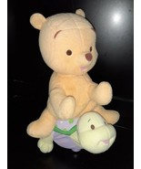 "Fisher-Price Baby Winnie the Pooh Riding Turtle~ WORKS Sound & Motion~ Plush 12"" - $37.62"