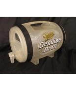 Miller Genuine Draft Beer Plastic Barrel Dispenser Pitcher MGD Mancave Bar  - $24.70