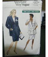 Vogue 7704 Misses Maternity Unlined Jacket & Skirt Pattern - Size 8/10/12 - $8.39