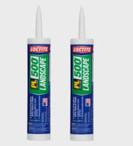 2~ Loctite PL 500 LANDSCAPE Block Rubber Construction Adhesive 10 oz. 16... - $23.19