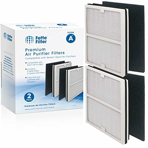 Fette Filter - Air Purifier Filter Compatible with Idylis Air Purifiers A Type.
