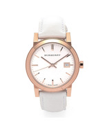 Burberry BU9108 Check Dial 34mm Ladies Wristwatch - $289.99