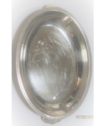 Pretty silverplated serving bowl with handles. Great for sauces or vegat... - $11.50