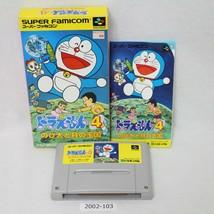 Nintendo Snes Doraemon 4 Verpackt Aktiv Sfc Spiele 2002-103 - $54.78
