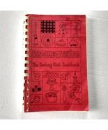 Vintage Curling Broomstacking Spiral Bound Cookbook Green Bay Wisconsin - $14.84