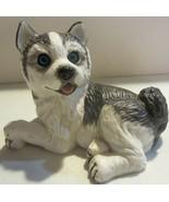Vintage Purebred Pets Kathy Wise - Husky Pup  - $21.80