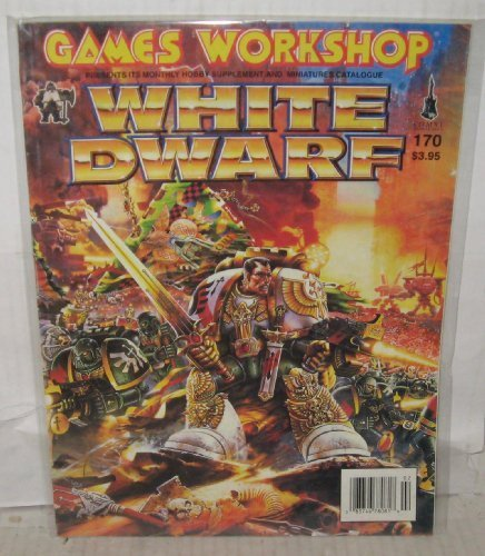 White Dwarf #170 February 1994 [Paperback] [Jan 01, 1994]
