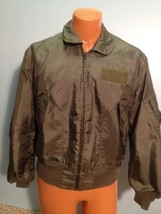 SUMMER AIR FORCE FLYERS COAT JACKET CWU-36/P LARGE  ITEM# B19 - $79.15