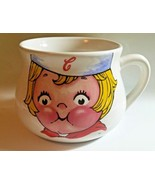 1998 Campbells Soup Kid Large Coffee Cup Jumbo Mug Houston Harvests Prom... - $10.18 CAD