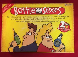 Battle of the Sexes Board Game 2nd edition - $11.98