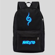 Naruto Luminous Theme Backpack Schoolbag Daypack Bookbag - $25.99