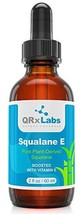 Pure Plant-Based Squalane Oil Boosted with Vitamin E LARGE 2 oz - Organic ECOCER