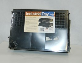 Deflecto 582704 Stacking Side Load Industrial Tray Black - €25,01 EUR
