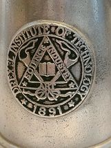 Vintage Drexel Institute of Technology Science Industry Art Pewter Mug 1891 image 3