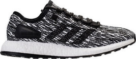 Men's adidas PureBOOST Running Shoes Core Black/White BB6280 BKW - $199.29