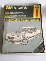 haynes 1420 GM N-Cars Buick Skylark Somerset olds Calais pontiac Grand Am - $13.45