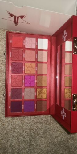 Jeffree Star Blood Sugar 18 Eyeshadows Palette, real and authentic