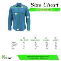 Men's Pearl Snap Button Long Sleeve Western Slim Fit Stretch Cowboy Dress Shirt image 2