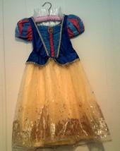 Disney Store Princess Snow White Costume Size 4  - $44.00