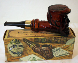 Avon Collector's Deep Woods After Shave Pipe Decanter and Bottle Empty - $5.65