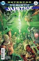 Justice League Rebirth #9 (Jan. 2017)  First Print - $3.95