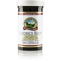 Nature's Sunshine Licorice Root, 100 Capsules | Powerful Support for The... - $22.81