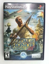 PS2 Medal of Honor: Rising Sun (Sony PlayStation 2, 2003) MoH No Manual ... - $2.95
