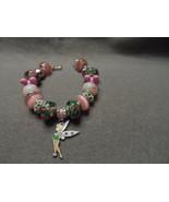 Authentic Pandora bracelet with Disney Tinkerbell Theme (#2) - $87.50
